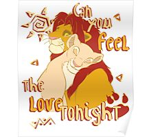 Can You Feel the Love Tonight Poster