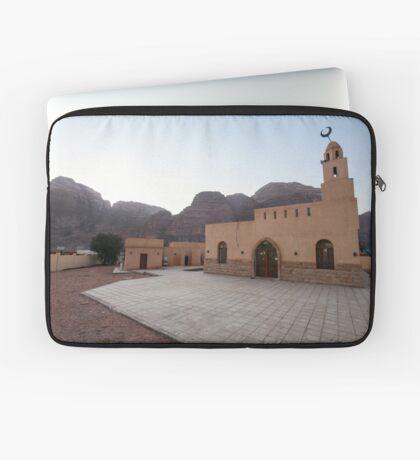 Mosque in Rum village, Wadi Rum, Jordan Laptop Sleeve