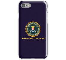 WINNERS DON´T USE DRUGS - ARCADE SLOGAN iPhone Case/Skin
