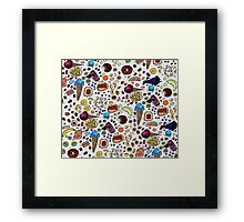 Sweet Tooth Watercolor painting Framed Print