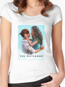 A Plastic World - The Notebook Women's Fitted Scoop T-Shirt