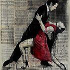 midnight tango by Loui  Jover