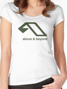 Above Women's Fitted Scoop T-Shirt