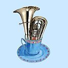 Tuba - Musical Cup of Tea by didielicious