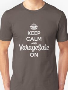 Keep Calm and VarageSale On T-Shirt