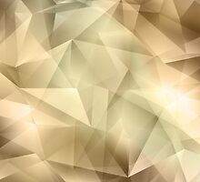 Abstract Crystal Background by Olga Altunina