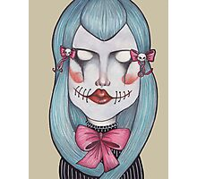 Scary Bows Photographic Print