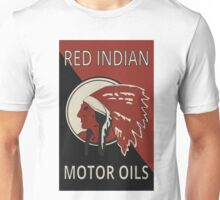 Red Indian Motor Oils Unisex T-Shirt