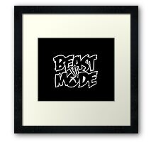 Xbox Beast Mode Framed Print