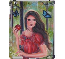 Forbidden fruit fairytale art by Renee Lavoie iPad Case/Skin