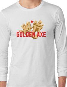 GOLDEN AXE TITLE SCREEN Long Sleeve T-Shirt