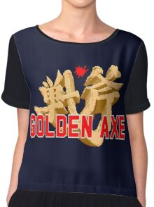 GOLDEN AXE TITLE SCREEN Chiffon Top