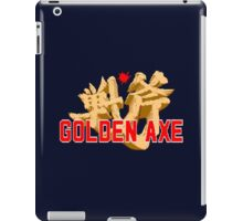 GOLDEN AXE TITLE SCREEN iPad Case/Skin