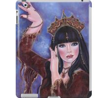 Dance Macabre egyptian woman fantasy art by Renee Lavoie iPad Case/Skin