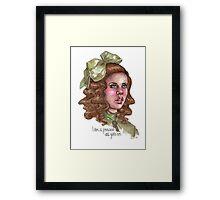 Sara Crewe Framed Print