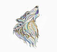 Head Of The Howling Wolf Unisex T-Shirt