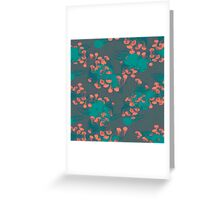 Medusa / Crazy Jellyfish Blue Atoll Greeting Card