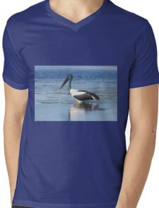 In The Blue Mens V-Neck T-Shirt