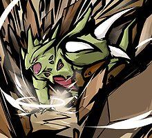 Mega Tyranitar | Stone Edge by ishmam