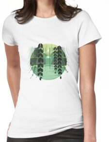 Misty Marsh Womens Fitted T-Shirt