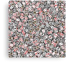 Playing cards 2 Canvas Print