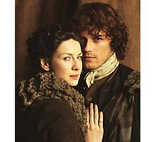 Claire And Jamie Outlander Photographic Print