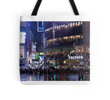 Rainy Tokyo Tote Bag