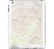 USGS TOPO Map Alaska AK McCarthy C-8 357336 1951 63360 iPad Case/Skin