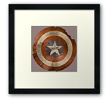 WWCD - What Would Cap Do? Framed Print