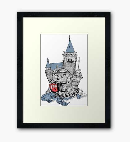 Once Upon a Time Istanbul Framed Print