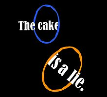Portal The Cake Is A Lie by AJColpitts
