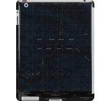 USGS TOPO Map Alaska AK Demarcation Point A-2 355369 1983 63360 Inverted iPad Case/Skin