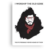 Hipster Jon Snow Canvas Print