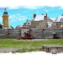 Louisbourg Fortess by jwalker-175