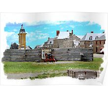 Louisbourg Fortess Poster