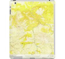 USGS TOPO Map Alaska AK Fairbanks A-4 355533 1952 63360 iPad Case/Skin