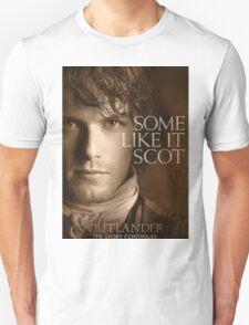 Jamie Fraser Outlander Cover Unisex T-Shirt