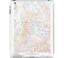 USGS TOPO Map Alaska AK McCarthy C-4 357319 1959 63360 iPad Case/Skin