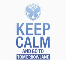 Keep Calm and go to Tomorrowland - blue gradient Unisex T-Shirt