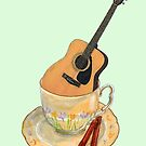 Guitar - Musical Cup ofTea by didielicious