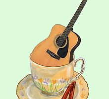 Guitar Tea Lover by didielicious