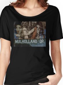 Mulholland Drive Poster Women's Relaxed Fit T-Shirt