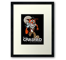 Crashed Framed Print