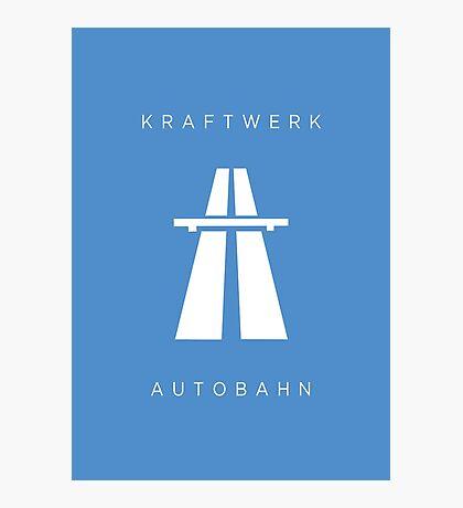 KRAFTWERK / Autobahn Photographic Print