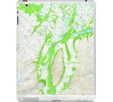 USGS TOPO Map Alaska AK Nabesna B-6 357923 1960 63360 iPad Case/Skin
