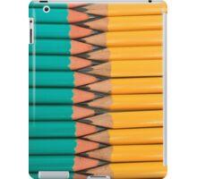 Yellow and Green Pencils iPad Case/Skin