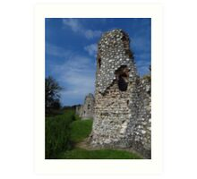 Crumbling Towers, Baconsthorpe Castle Art Print