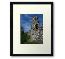 Crumbling Towers, Baconsthorpe Castle Framed Print
