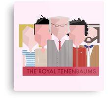 The Royal Tenenbaums - Wes Anderson Metal Print