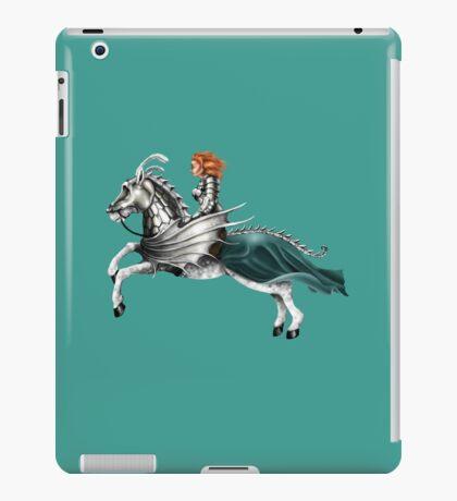 Mounted Knightess iPad Case/Skin